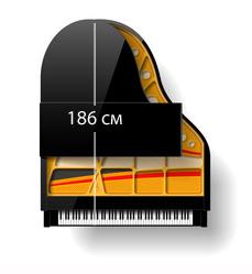 Длина рояля