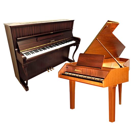 Пианино и клависин
